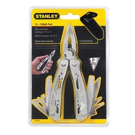 STANLEY 0-84-519 - Multiherramienta 12 en 1, incluye funda: Amazon.es: Bricolaje y herramientas