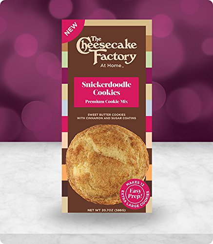 The Cheesecake Factory At Home Premium Cookie Mix  Snickerdoodle