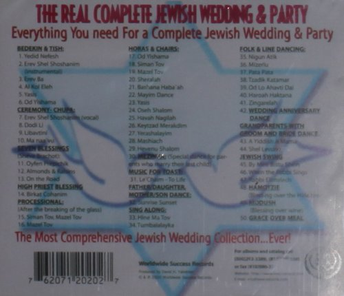Real Complete Jewish Wedding Party by tzadik