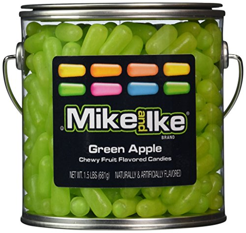 mike-and-ike-party-pail-black-label-candy-green-apple-15-pound