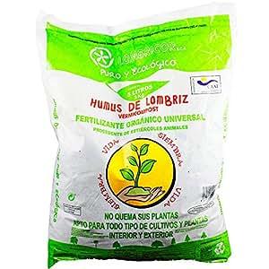Humus de Lombriz ECOLOGICO 35 L Certificacion CAAE