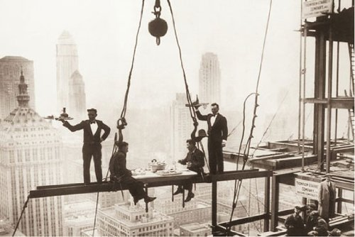 Lunch Above Manhattan by Charles C. Ebbets 24