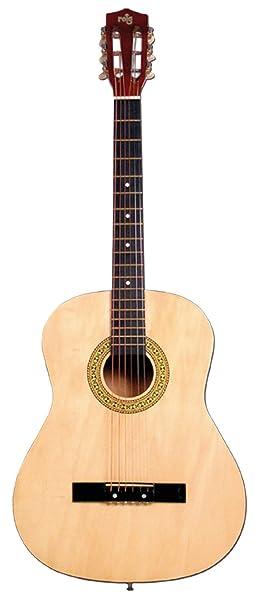 REIG Claudio Guitarra de Madera, 98 cm (7064): Amazon.es: Juguetes y juegos