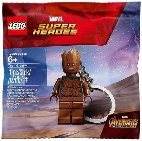 LEGO Teen Groot Keychain - Avengers Infinity War