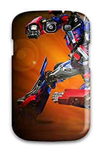 Cute Appearance Cover/tpu PSWcoKI2116vhIcn Optimus Prime Case For Galaxy S3