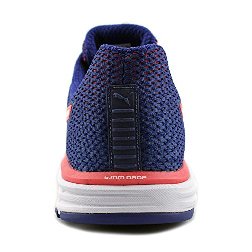 Puma Speed 500 Ignite Men Round Toe Synthetic Blue Running Shoe Blue-bright Plasma-white DcBvF1w