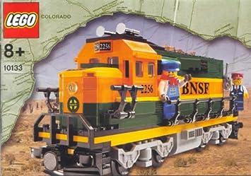 Lego Trains 10133 - BNSF Burlington Northern Santa Fe Lokomotive