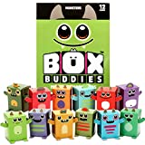 monster box - Box Buddies Monsters - Pack of 12 Mini Box Monsters - Fun Papercraft Party Favors