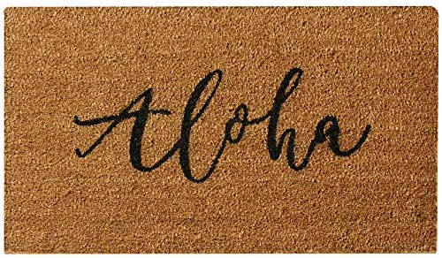 Rubber-Cal 10-111-006 Island Greetings Door Mat