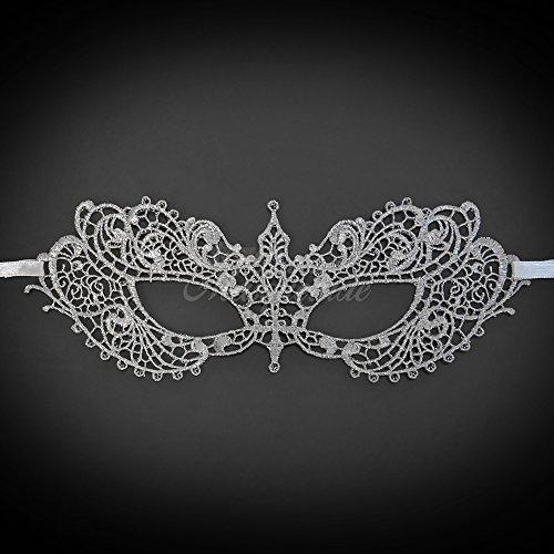 New Women Extravagant Laces Mask Laser Cut Venetian Halloween Masquerade Mask Costume Extravagant Inspire Design - (Extravagant Masquerade Masks)