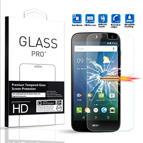 Tempered Glass Screen Protector for Acer Liquid Z630 - 8