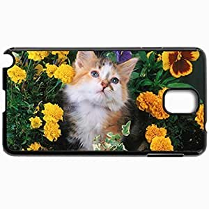 Black Case For Samsung Galaxy Note 3 Hard Cutomizd Personalizd And Cat Black