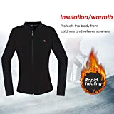 Velvet Jacket Shirt USB Smart Electric Women's Jacket Heating Clothes Washable Thermal Underwear