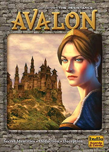 The Resistance: Avalon Social Deduction Game (Best Strategy Games Pc)