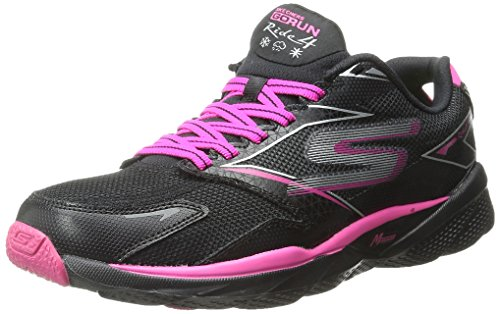 GO Skechers Negro Deporte de Zapatillas Rosa Ride Y Mujer 4 para BPPwqTxC