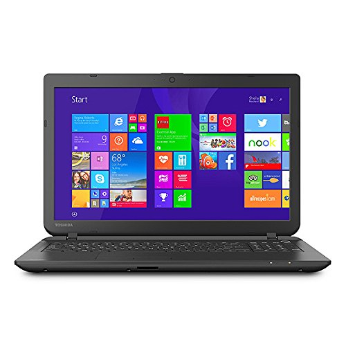 Toshiba Satellite C55-B5300 16-Inch Laptop (Intel Celeron N2840 Processor, 4 GB DDR3L Memory, 500 GB HDD, DVD-SuperMulti Drive, Windows 8.1)