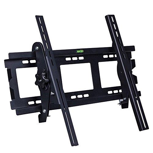 LED LCD TV Wall Mount, EXUNTECH Bracket Tilt for Samsung Sony LG 32inch 37 40 42 50 55 60 65'' Max VESA 600mmX400mm (Mm 160 Center Lock)