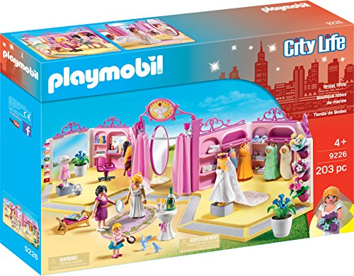 PLAYMOBIL® Bridal Shop Building - Shops Bridal Princess Brides