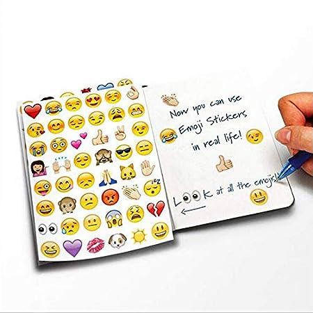 Stickers For - 4 Sheets Set Sticker Emoji Smile Face ...