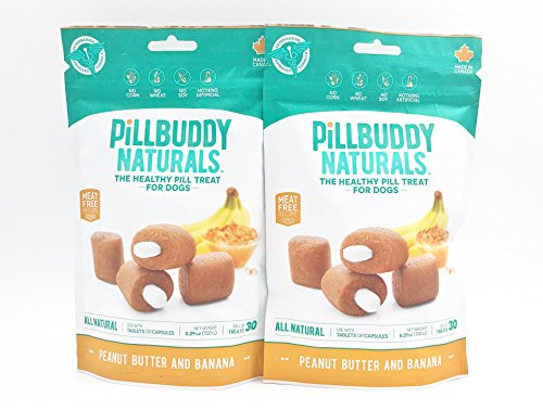 (Complete Natural Nutrition Pill Buddy Naturals, 60-Count, Peanut Butter & Banana)