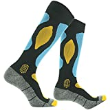 RANDY SUN Waterproof Skiing Socks, [SGS Certified] Unisex Knee Length Breathable Hiking Trekking Sock 1 Pair
