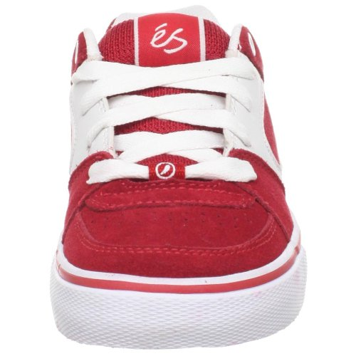 éS Square One Youth 5301000014 - Zapatillas de ante para niños Rojo (Rot/Red/White)