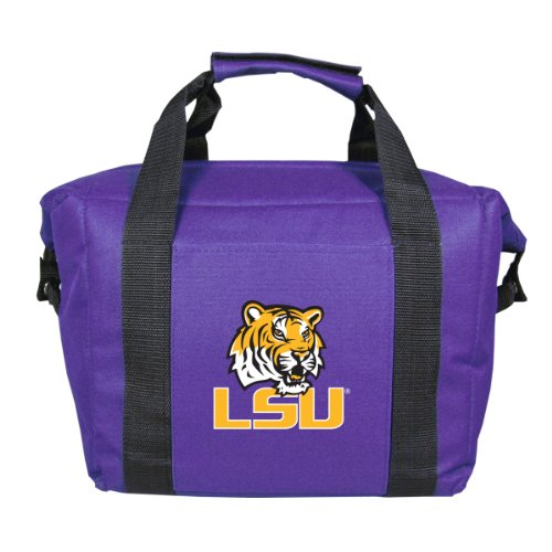 NCAA LSU Fightin Tigers Soft Sided 12-Pack Cooler Bag Lsu Tigers Cooler