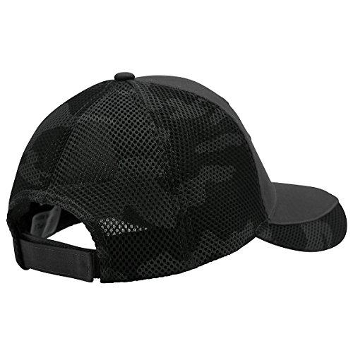 CarBeyondStore NASCAR Stripe Blue Black Baseball Hat