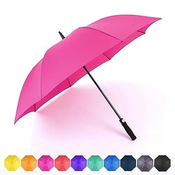 Amazon.com: RUMBRELLA Paraguas de golf grande resistente al ...