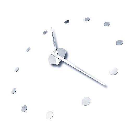 Amazon.de: Radius Design große Wanduhr, Uhr - Edelstahl - puristisch ...