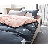 BEIRU Cotton Simple Four Sets Of Cotton Printing Four Sets Of Sheets Processing Bedding Custom Bedding ZXCV (Color : 1, Size : 180220cm)