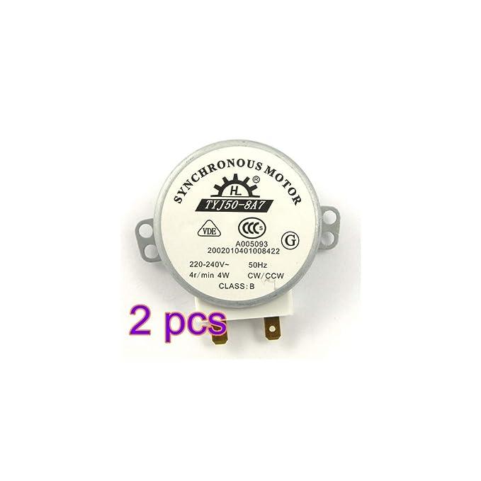 Hemobllo Motor síncrono para Motor Giratorio de Horno microondas ...