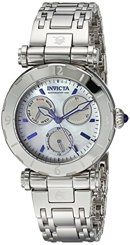 Invicta Women's 'Subaqua' Quartz Stainless Steel Casual Watch, Color:Silver-Toned (Model: 24427)