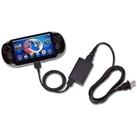 Amazon.com: Gimax - Cable de carga 2 en 1 USB para Sony PS ...