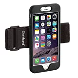 TuneBand LITE for iPhone 6 Plus, Premium Sports Armband with Silicone Skin and Armband (Black)