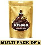 Hershey's Kisses Milk Chocolates, 108g - (Pack of 6)