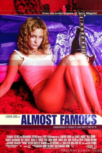 Almost Famous Movie Poster 24x36in kate hudson