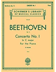 Concerto No. 1 in C, Op. 15: Schirmer Library of Classics Volume 621 National Federation of Music Clubs 2014-2016 Piano Duet