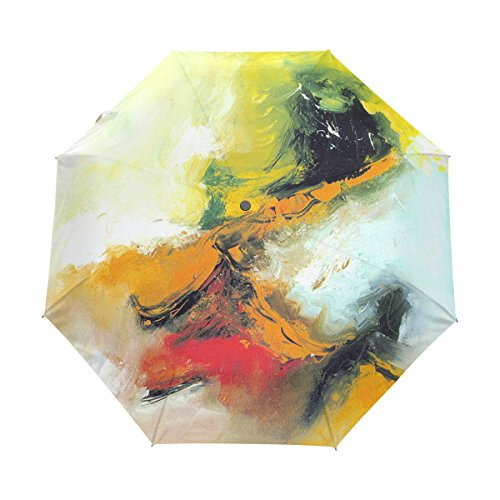 Xinxin Art graffiti printing Travel Umbrella Auto Open/Close Windproof Compact Umbrella