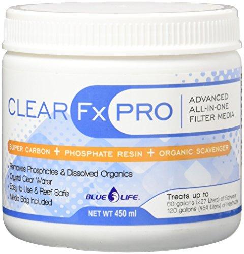 Filtration Pro (Blue Life USA Fx PRO Aquarium Treatment, Clear, 450ml)