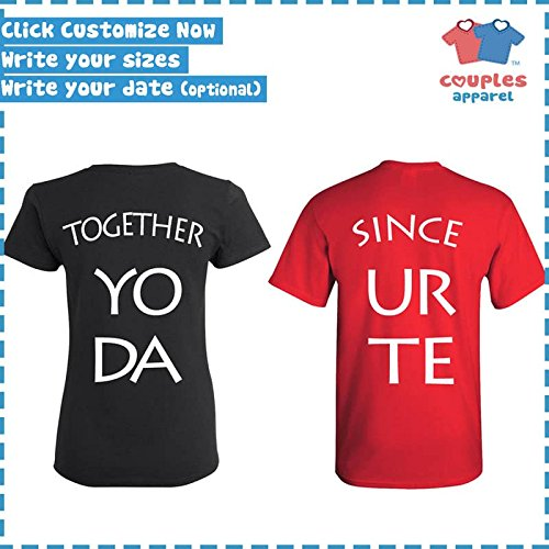 Amazon.com: Mr. & Mrs. - Matching Couple Shirts - His and Her T-Shirts - Tees: Clothing
