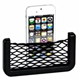 Car Net Holder Phone Holder Pocket Organizer String Bag (Black) For Volkswagen Polo