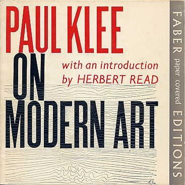 On Modern Art - Klee Abstract Painting