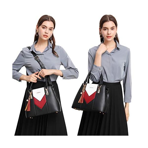 Pomelo Best Handbags for Women with Multiple Internal Pockets