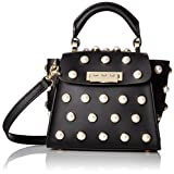 ZAC Zac Posen Eartha Iconic Top Handle Mini-Pearl Lady, Black