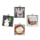The Round Top Collection Gallery Sweet Christmas Set of 4 - Metal & Wood