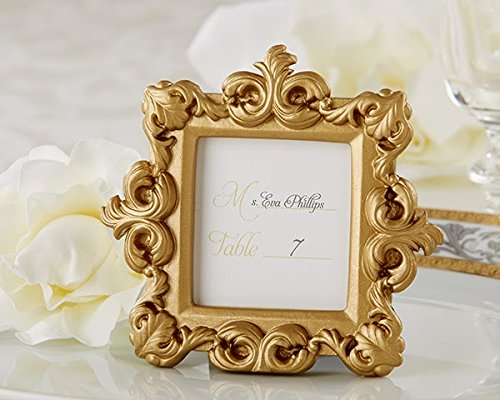 60 ''Royale'' Gold Baroque Place Card/Photo Holder by Kateaspen (Image #1)