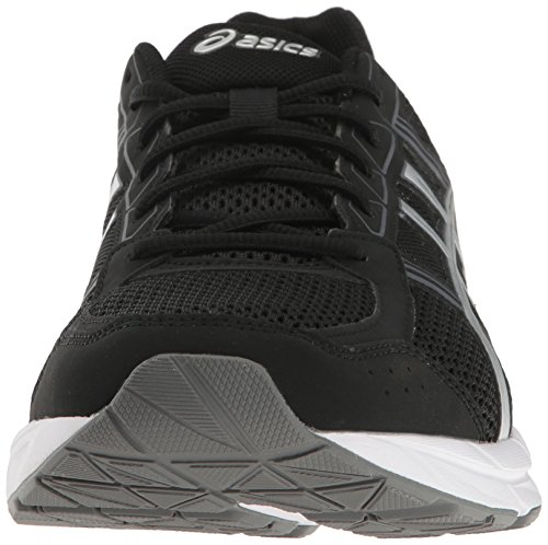 ASICS Men's Gel-Contend 4 Running Shoe, Black/Silver/Carbon, 7 M US by ASICS (Image #4)