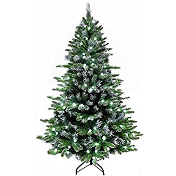 Amazon.com: Northlight Pre-Lit Frosted Mixed Green Pine Artificial ...