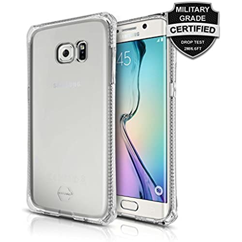 Galaxy S7 Edge Case, ItSkins Spectrum Clear Protective Case for Samsung Galaxy S7 Edge *Scratch Resistant* Military Grade Tested Shock Absorption Bumper for Sales